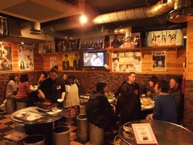 サムギョプサル×チーズタッカルビ居酒屋 とん八 店内の画像