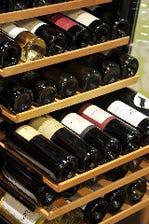 イタリアワイン常時100本以上