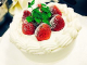 お誕生日の手作りケーキ