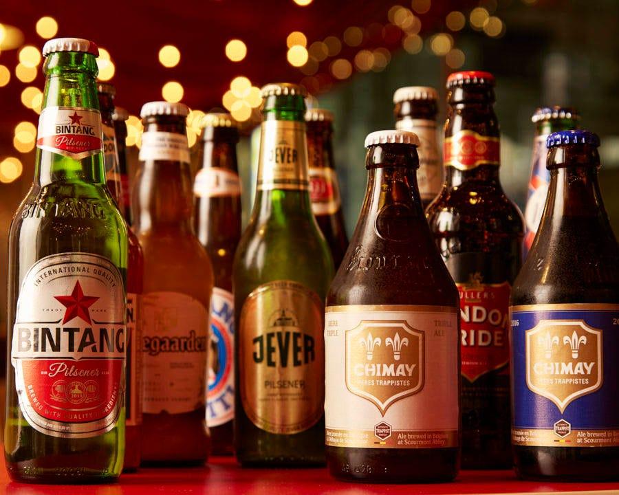 【木曜日限定!!世界のビール約20種+α★90分飲み放題が期間限定2,300円→1,500円!】