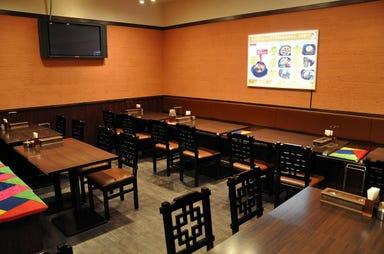 韓国家庭料理 チェゴヤ ゲートシティ大崎店 店内の画像