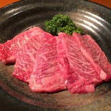 厳選した牛肉