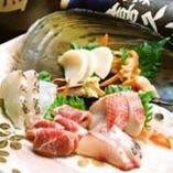 ◆市場直送!鮮度自慢の魚介類に舌鼓