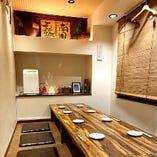 8名様~10名様で使える完全個室あり!ご予約がおすすめです!!