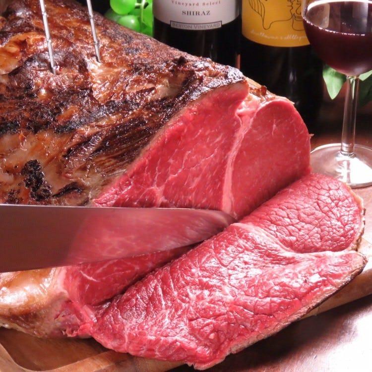 超肉特化型食べ放題! ハイコスパで黒毛和牛ステーキ食べ放題
