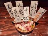 肉巻き串1本160円(税抜)~