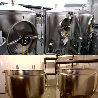 ビールは全て自社醸造!無加熱・無濾過の酵母が生きているビール