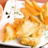 真鱈のフィッシュ&チップス
