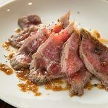 牛肉のたたきポリネシアンソース