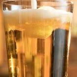 無加熱・無濾過の酵母が生きているビールをご提供