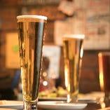 当店のビールは全て自社醸造で作られたもの!