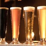 常時7種類のクラフトビールをご用意