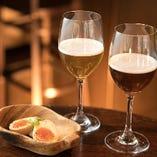 ピルスナ、ラガー、ポーターなど様々なスタイルのビールをご堪能ください
