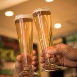 酵母が生きているクラフトビール