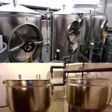 自社工場で醸造!!オンリーワンビール