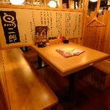 ■□鳥二郎 阪神尼崎店 -ちょっと飲みにも最適な半個室-□■
