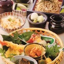 贅沢ランチに、季節御膳は旬を味わえます。