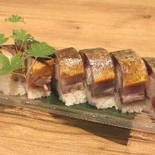 青魚で贅沢な飯もの