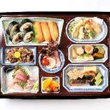【法事向け】折詰弁当(寿司 or ちらし)