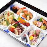 湊の寿司御膳