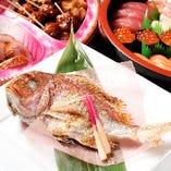 お食い初めに◎「祝い鯛」をご用意しております!