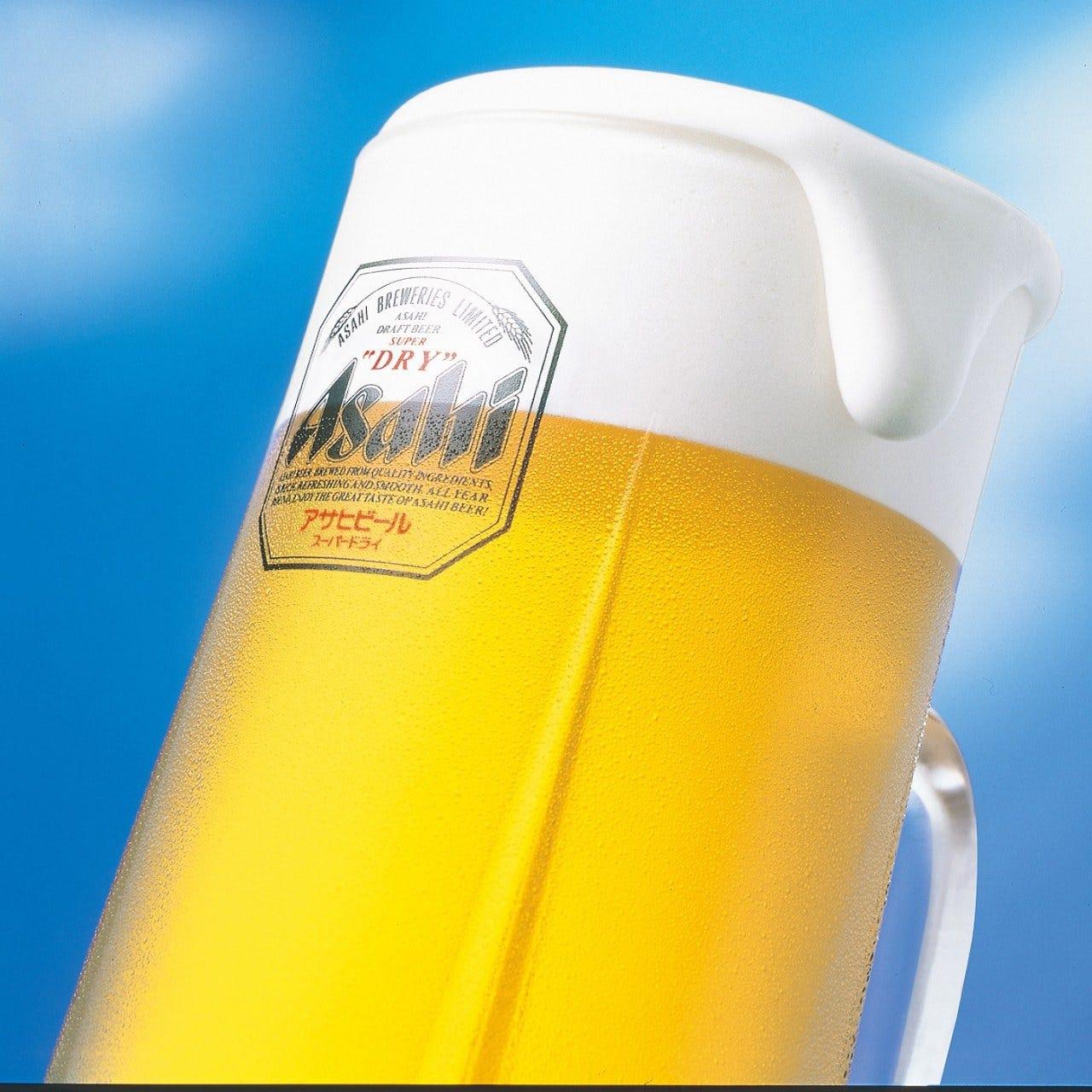 【期間限定】ビール・焼酎・カクテルなど120分飲み放題♪『単品飲み放題プラン』1,500円(税込)