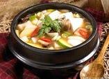 テンジャンチゲ(味噌汁鍋韓国式)