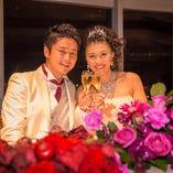 思い出に残る、特別な結婚式を創り上げることをお約束