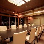 【和室:10~14名様】日本の美を感じる和室タイプの個室も完備