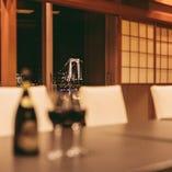 【和室:10~14名様】和情緒に富んだ落ち着いたお部屋は、会食などの大切な方をもてなすお席にも◎
