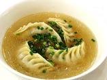 【調理長おすすめ】はるさめスープの水餃子