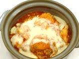 【調理長おすすめ】美味♪海老チリチーズ炒飯