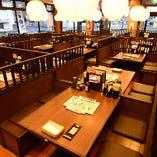 【2~50名様/オープンテーブル席】使い勝手◎広々とした気持ちのよい空間
