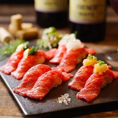 肉ずしと焼鳥&完全個室居酒屋 肉乃‐nikuno‐ 新橋店 メニューの画像