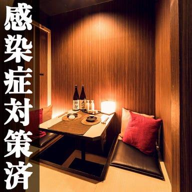 肉ずしと焼鳥&完全個室居酒屋 肉乃‐nikuno‐ 新橋店 店内の画像