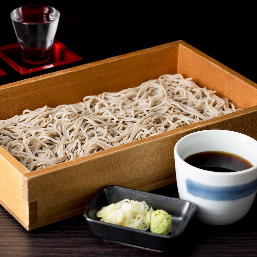 絶品!北海道産石臼挽生蕎麦