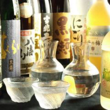和食によく合う厳選された地酒や焼酎
