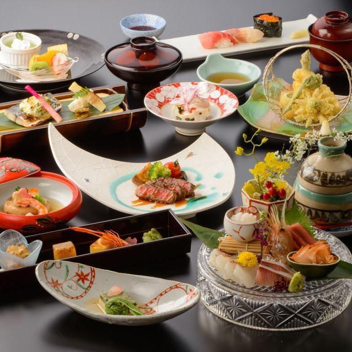 宮城の旬を堪能出来る「浪漫コース」が各種宴会にお勧めです。