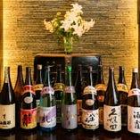 通常飲み放題に+1,650円(税込)で地酒・本格焼酎・梅酒も飲み放題 !