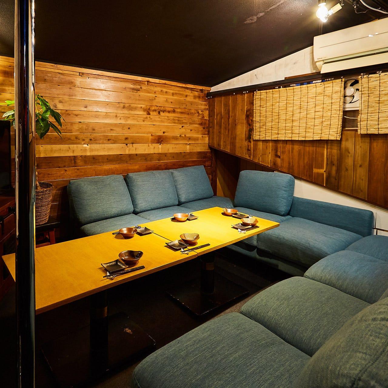 VIPルームは完全個室席!!
