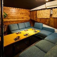 寛ぎ度満点◎テレビ付の完全個室