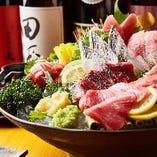【Tunaがる盛り】 マグロを中心にその日仕入れた鮮魚を刺盛りで