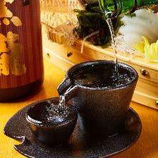 旨い一杯!旬の日本酒に出会えます