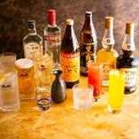 種類豊富な飲み放題メニューも魅力