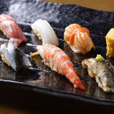 【寿司コース11,000円(税込)/全5品】接待など大切な方とのお食事に|宴会・飲み会・商談