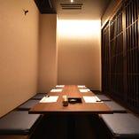 錦での接待や会食に【完全個室】お座敷掘りごたつ席(8名様×2卓)