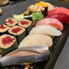 握り寿司盛合せ<上>