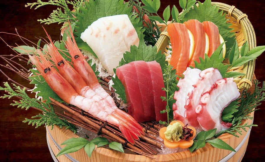 新鮮な旬の魚介をぜひお刺身でどうぞ