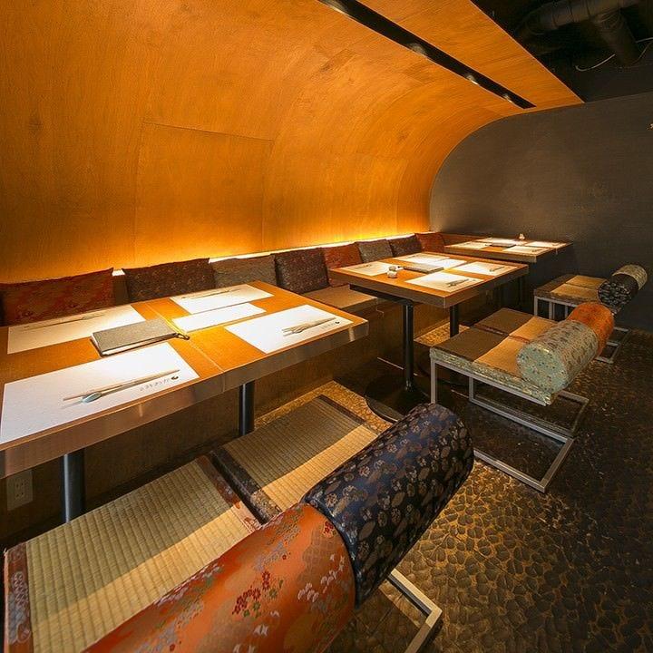 優美な和空間で味わう日本の四季の味