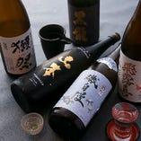 関西では手に入りにくいレアな銘酒・地酒も取り揃えております!